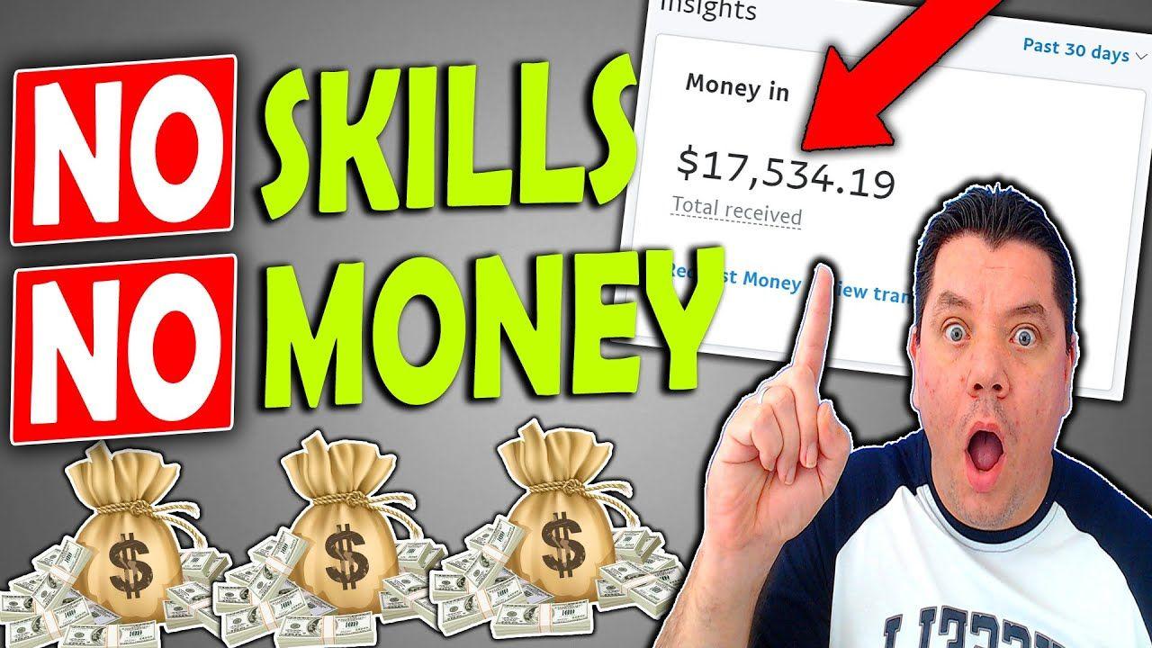 5 Ways To Make Money Online With NO SKILLS, ZERO KNOWLEDGE, and NO MONEY IN 2021!