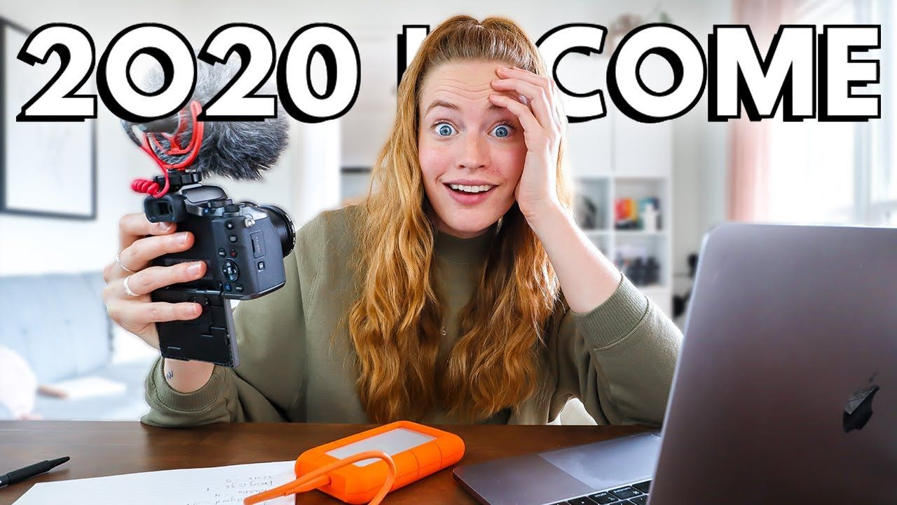 How Much YouTube Paid Me In 2020 With 300k Subscribers // 2020 Income Report