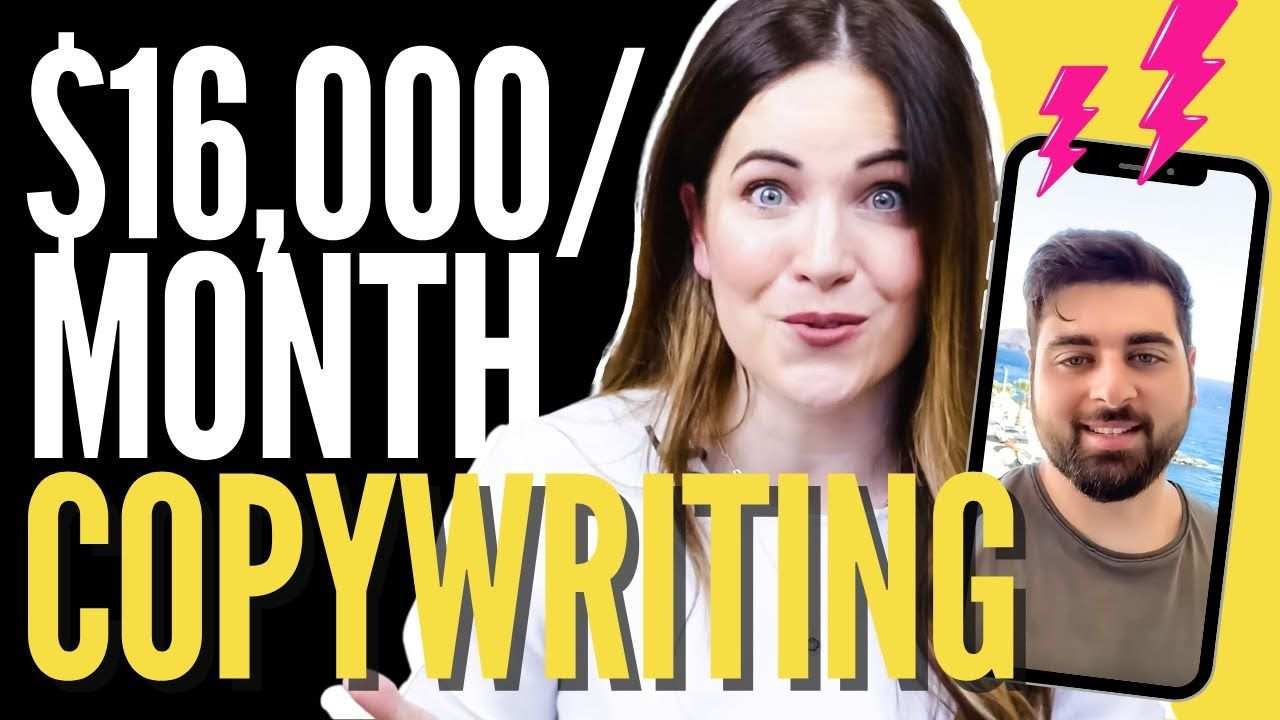 How Sam Made $16K In ONE Month From Freelance Copywriting (8 Months After Starting)