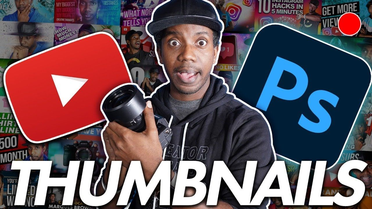 How to Make Better YouTube Thumbnails and Get More VIEWS on YouTube!  LIVE WORKSHOP