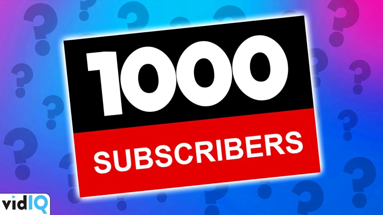 1000 YouTube Subscribers: How Long Does it Take?