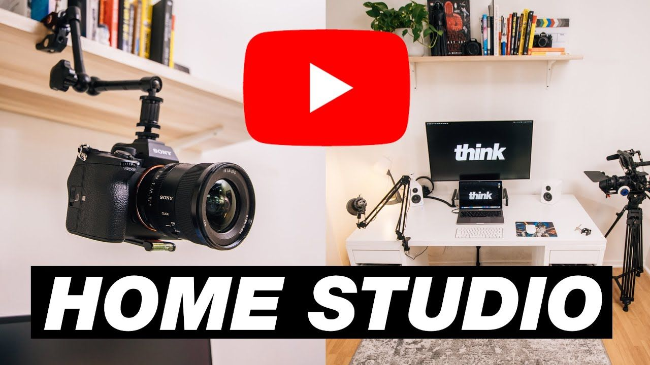 AMAZING YouTube Studio Setup Ideas for SMALL Spaces (Home Office Tour 2021)