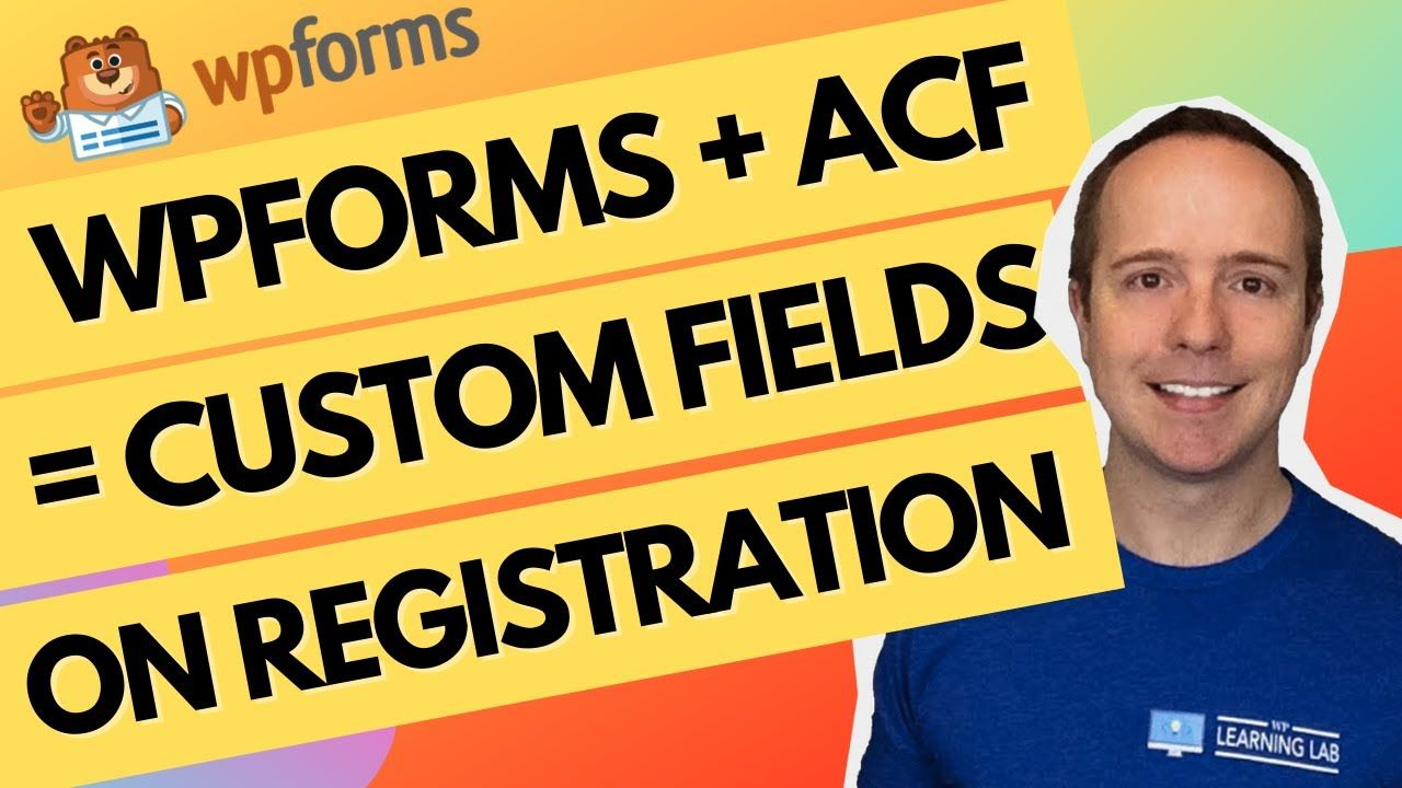 Create A Custom Login Page Custom Registration Page With Custom Fields Using WPForms, ACF, Elementor