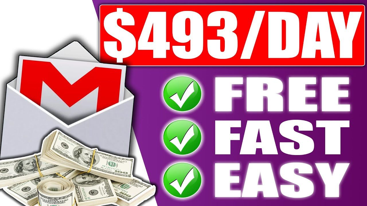 Earn $493 a Day For FREE Using your GMAIL (Make Money Online With Affiliate Marketing)