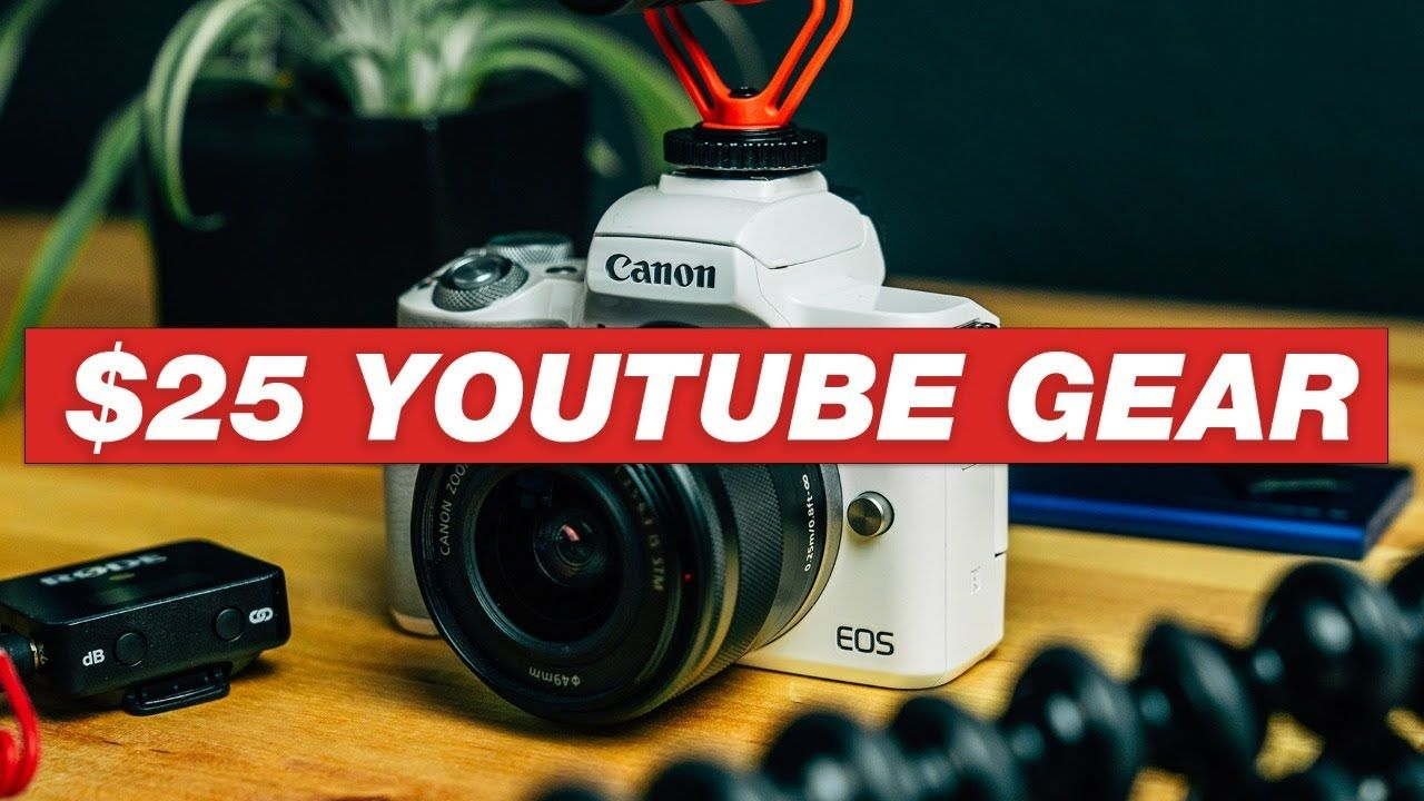 MUST-HAVE Cheap YouTube Video Gear (UNDER $25)