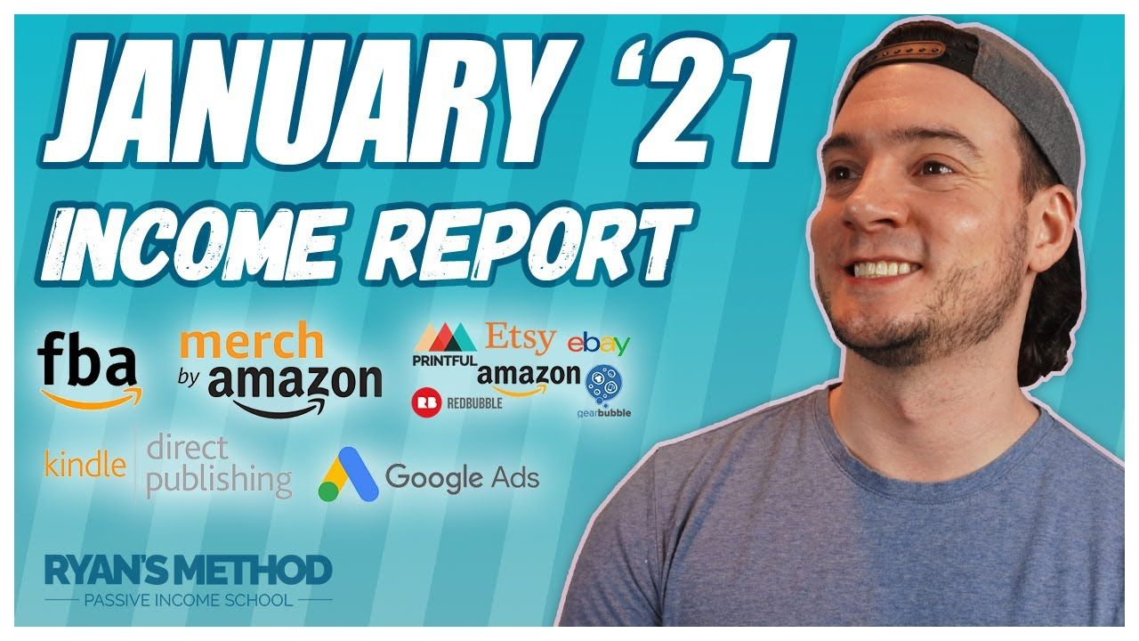 PASSIVE INCOME REPORT 💰 January 2021 — New Year 🎉