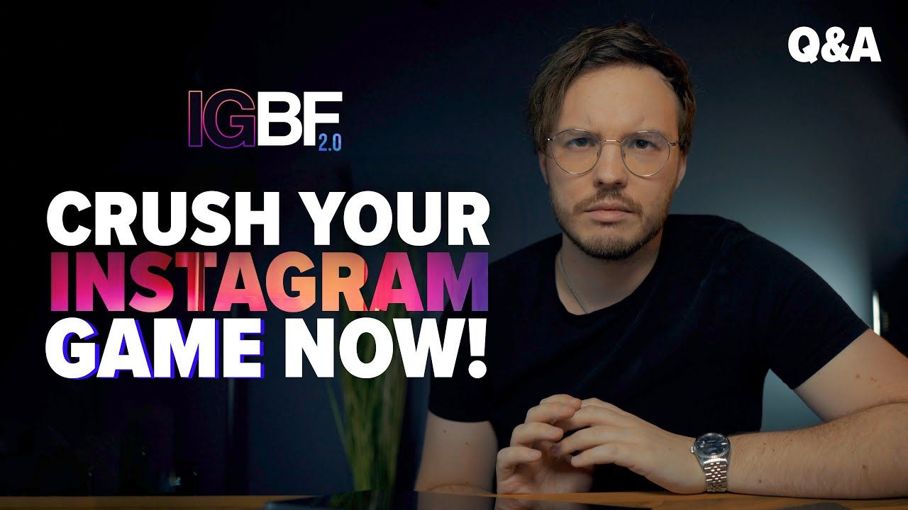 The IG BlackFile™ 2.0 Is OPEN! | CRUSH Your Instagram Game NOW!
