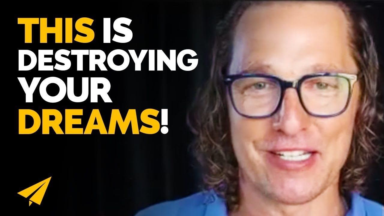 You're Doing THIS DAILY and It's Costing You a FORTUNE! | Matthew McConaughey Interview