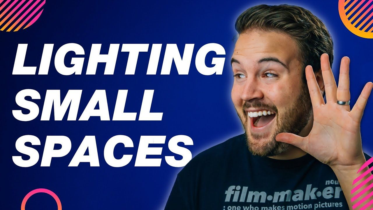 5 EASY YouTube Lighting Tips for SMALL Spaces