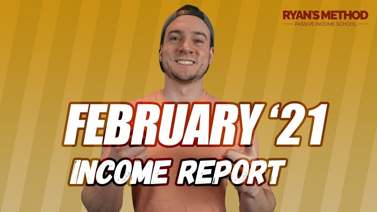February 2021 Income Report (Amazon FBA, Merch, KDP, Print on Demand, & AdSense)