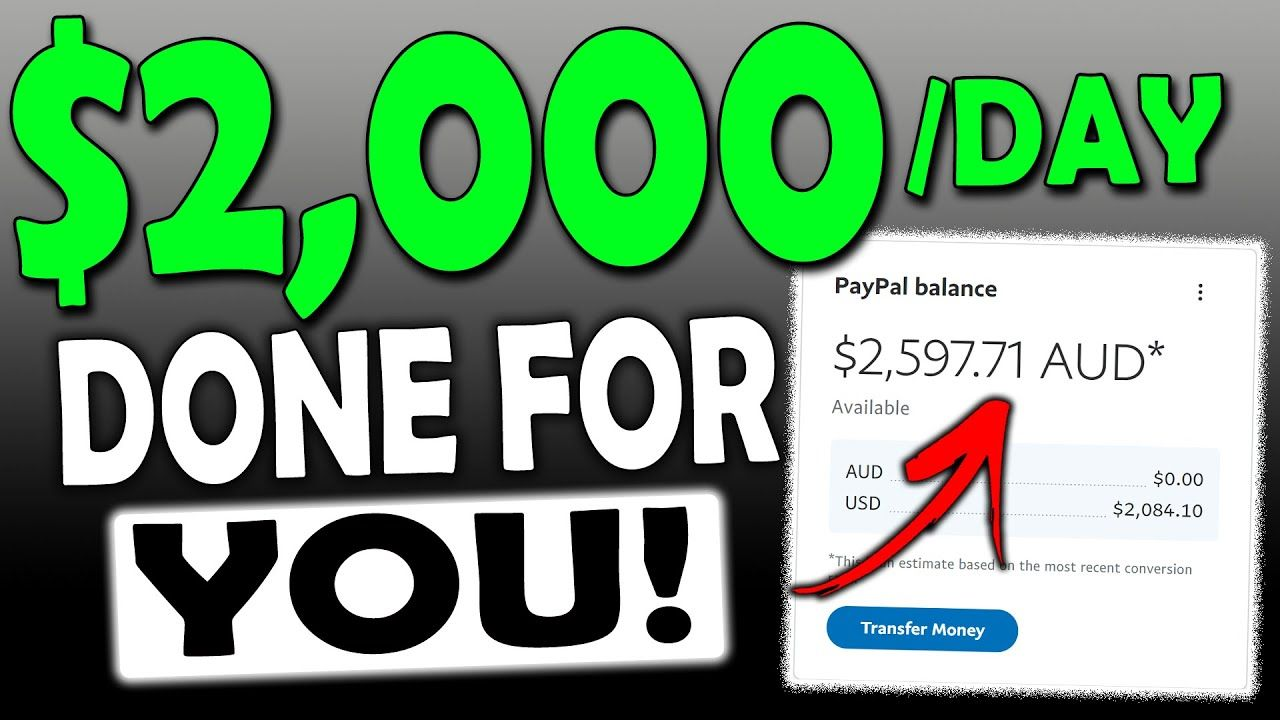Get Paid $2,000 In One Day With This DONE FOR YOU ARTICLES TRICK! (Make Money Online)