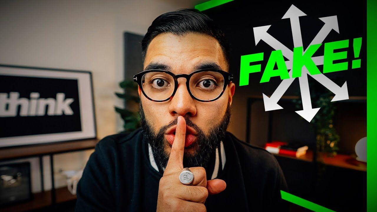I Built SECRET YouTube Studio with a DIY Fake Wall