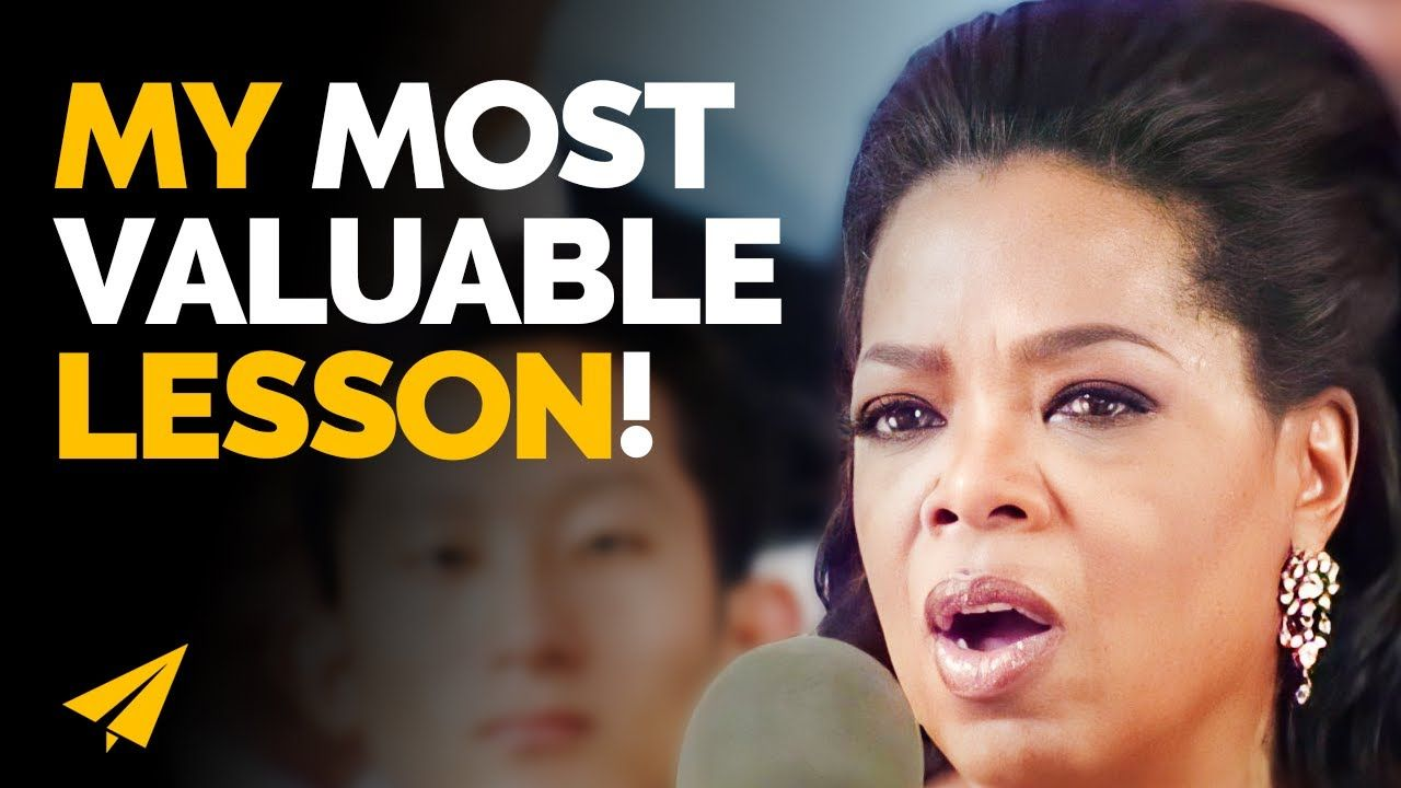 THIS is the Single MOST Important LESSON I Have LEARNED In 25 Years!   Oprah Winfrey   Top 10 Rules