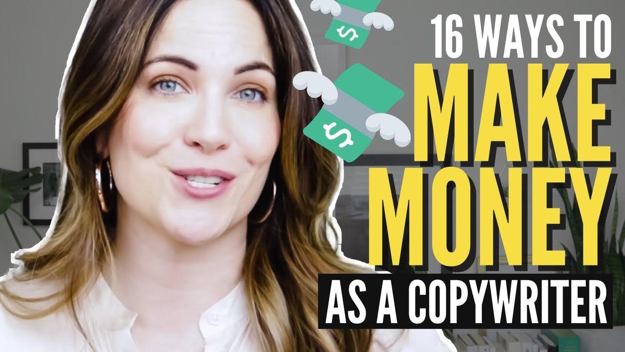 What Does A Copywriter Do? 16 Ways To Make Money Copywriting