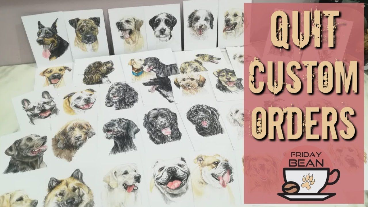 When to quit taking custom orders on Etsy: Featuring Amber Marie – The Friday Bean Coffee Meet
