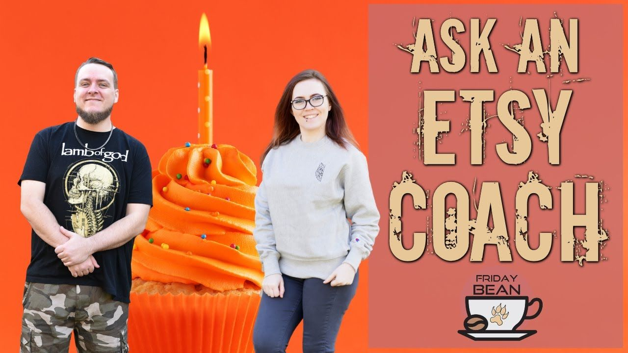 Ask the Etsy coaches ANYTHING – Marc's Birthday Episode – The Friday Bean Coffee Meet