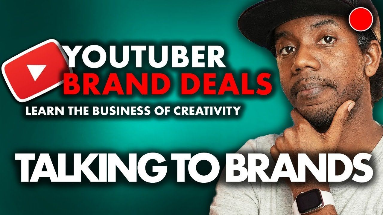 Influencer Brand Deals and How to Talk to Brands |YouTube LIVE Q&A