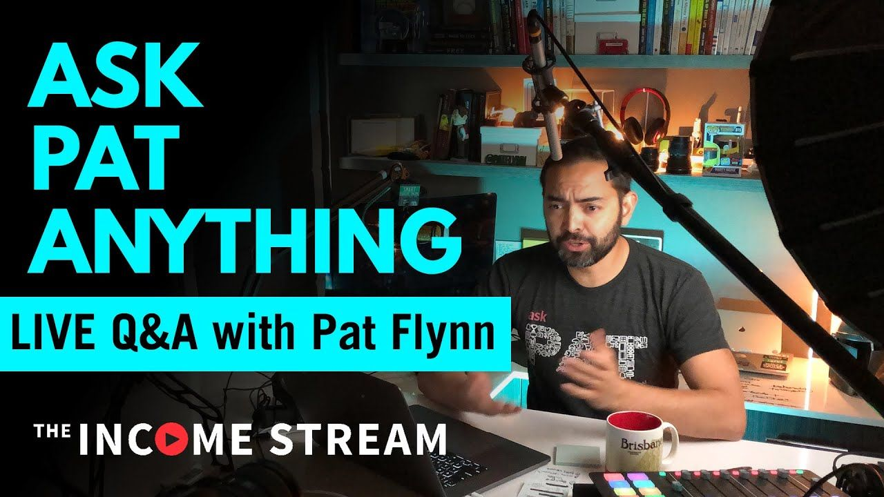 🔴 Live Chat with Pat Flynn – Q&A & Updates!