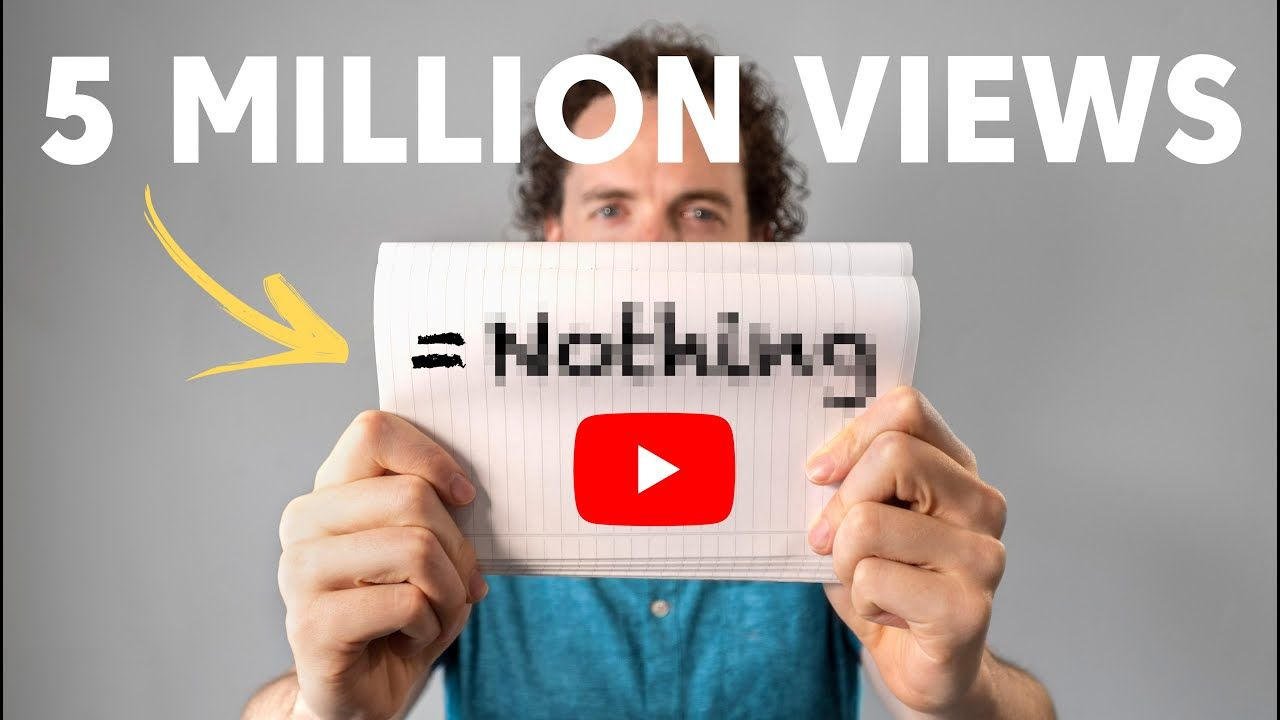 Why Going Viral on YouTube DOESN'T Work (the way you think it does)