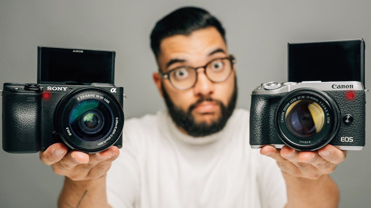 Best Camera for YouTube Videos? (Canon M6 Mark ii vs Sony a6400)