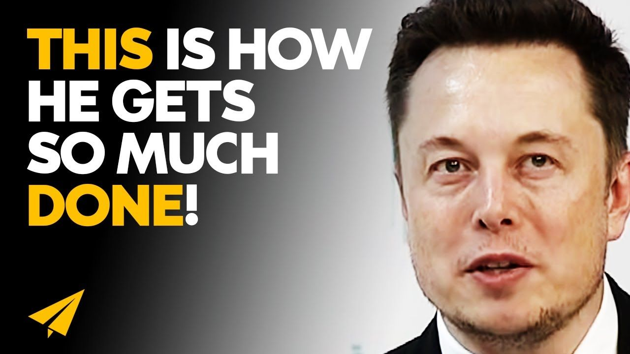 Best Elon Musk Productivity Secrets for Insane Success