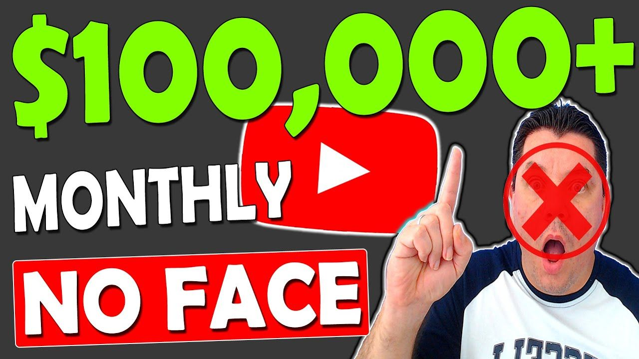 How To Make Money On YouTube Without Showing Your Face ($100,000 a Month Strategy)