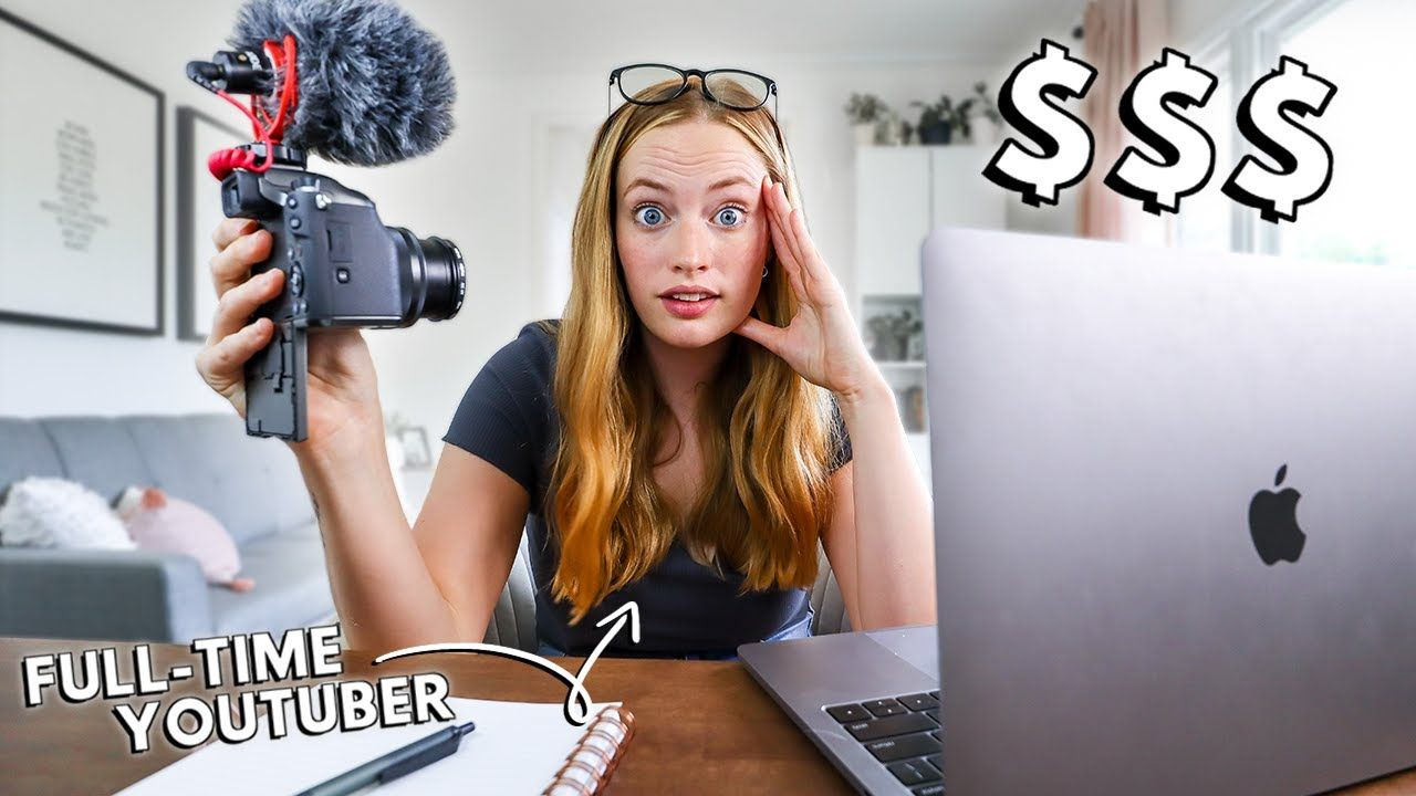How To Make YouTube Your Full-Time Job // ACTUAL steps to follow & advice from a full-time YouTuber