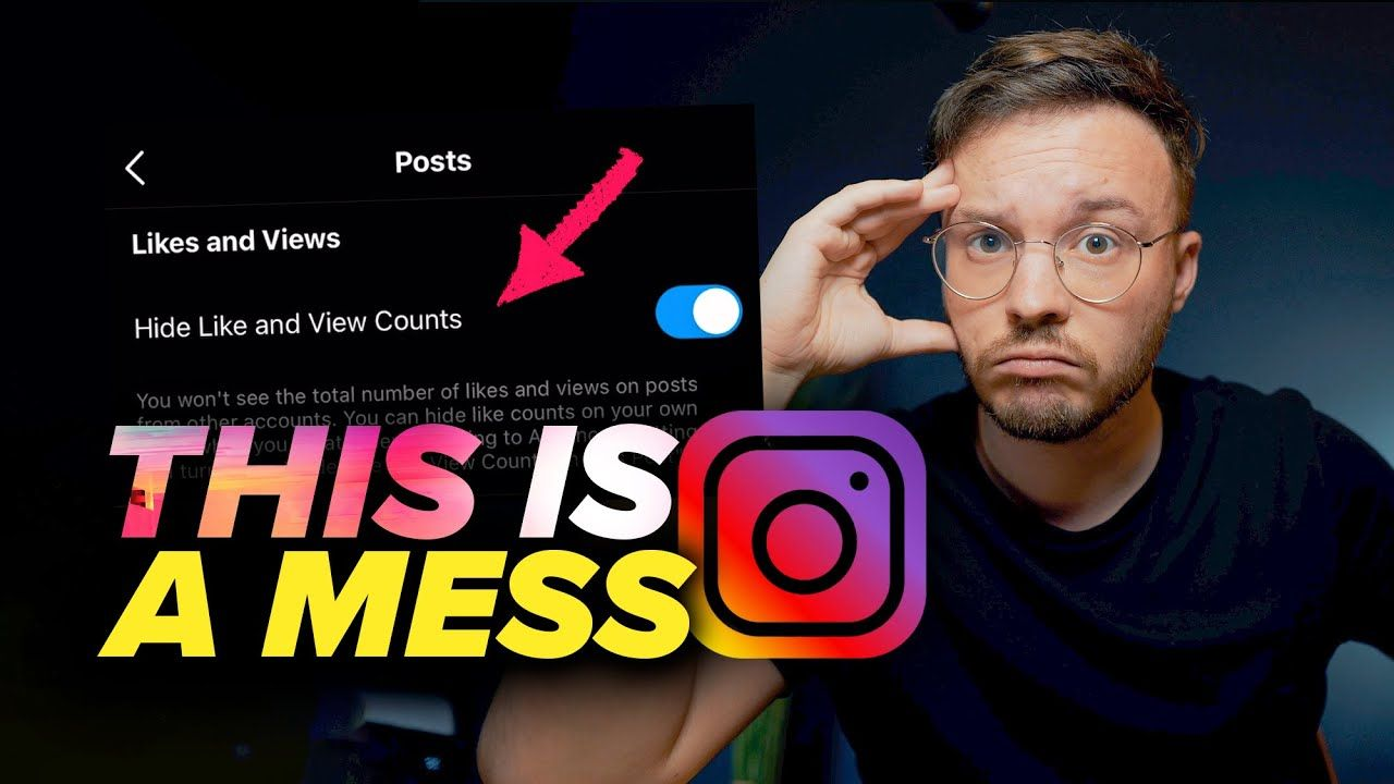 New Instagram Update Is A Total MESS (Hide Likes)