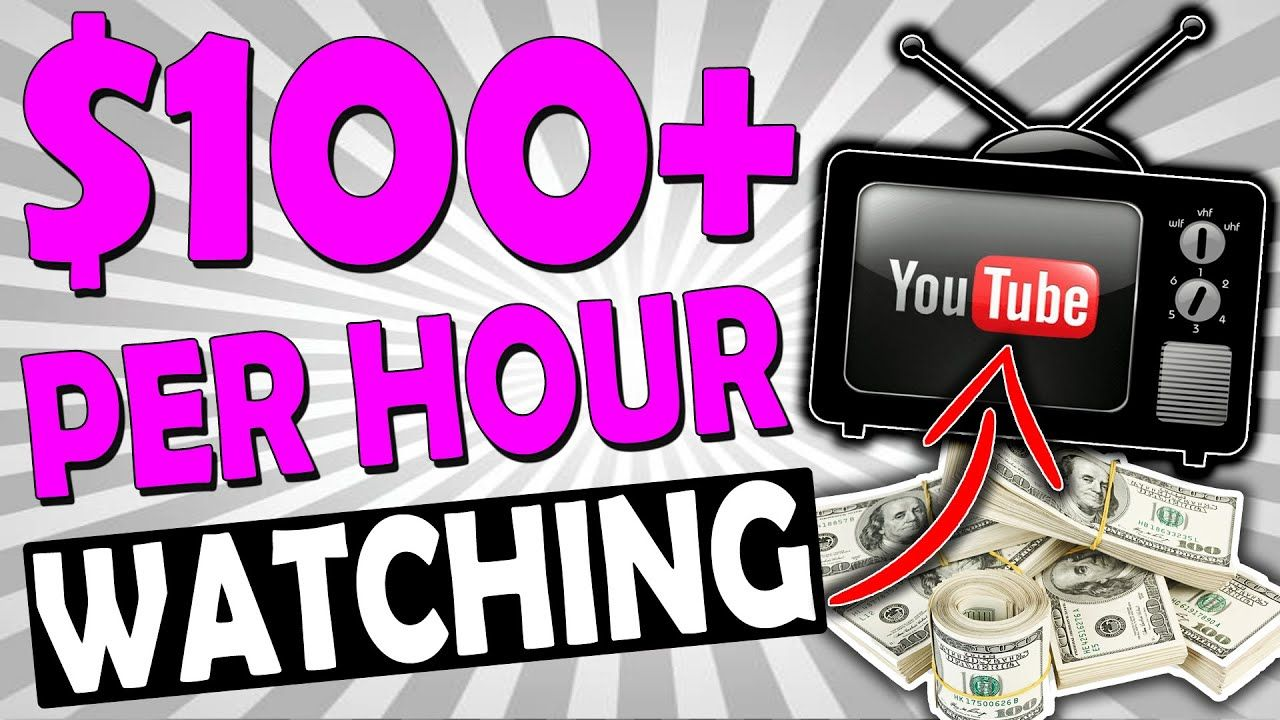 EARN $100+ PER HOUR ONLINE: HOW TO MAKE MONEY WATCHING YOUTUBE VIDEOS (SUPER SIMPLE)