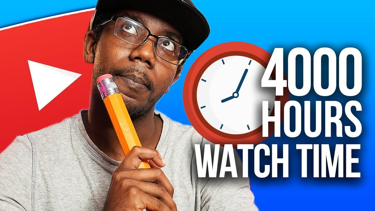EXACTLY How to Get 4000 Hours of Watch Time on YouTube (YouTube Monetization)