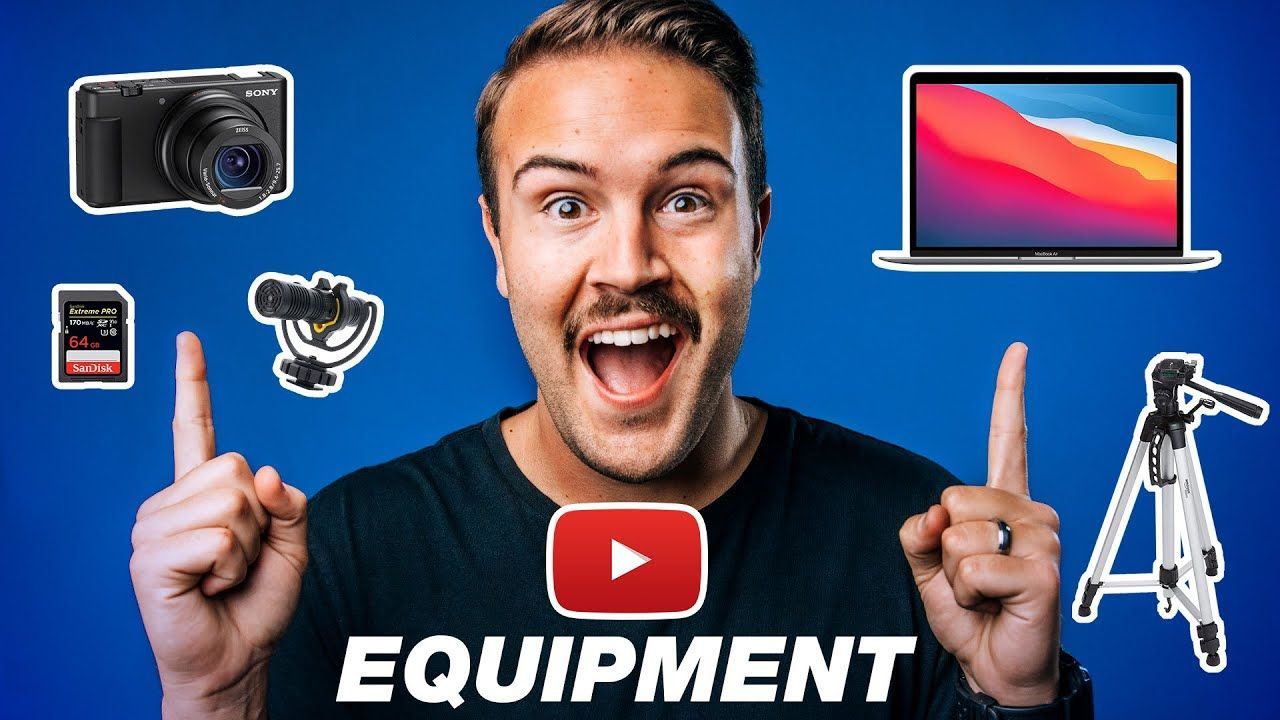 Everything You NEED to Start Recording YouTube Videos (Complete Gear Checklist 2021)