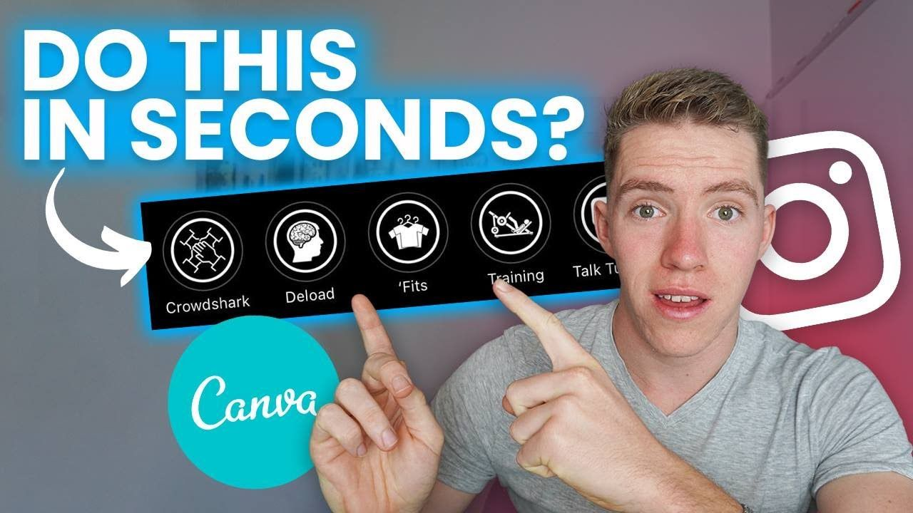 How To Create Instagram Story Highlights In Seconds With Canva [Simple Tutorial]