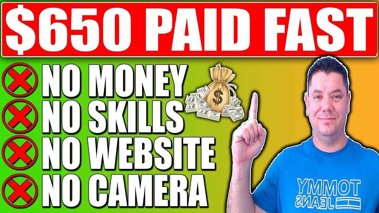 How To Make $650/Day: Make Money Online for FREE, No Website, No Skills 2021