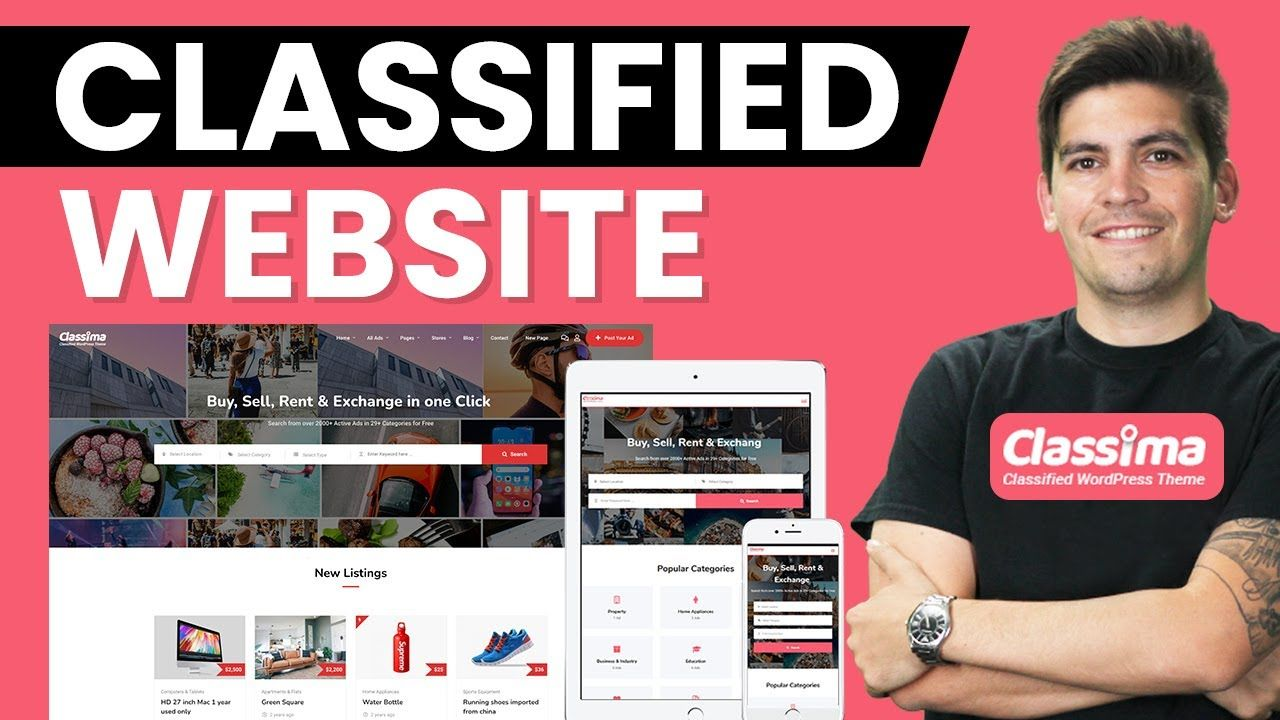 How To Make A Classified Ads Website With WordPress & Elementor 2021 (Like Craigslist)