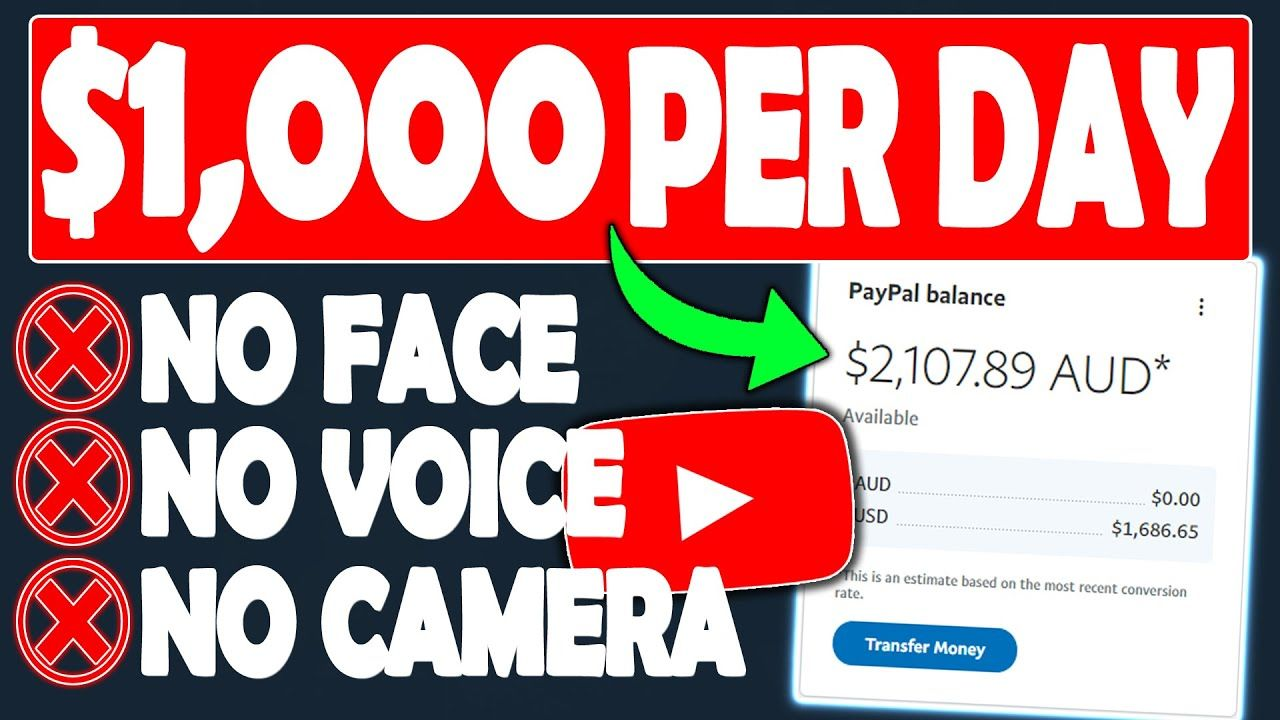 How To Make Money On YouTube Without Making Videos & Earn $1,000 Per Day (Not Including Ad Revenue)