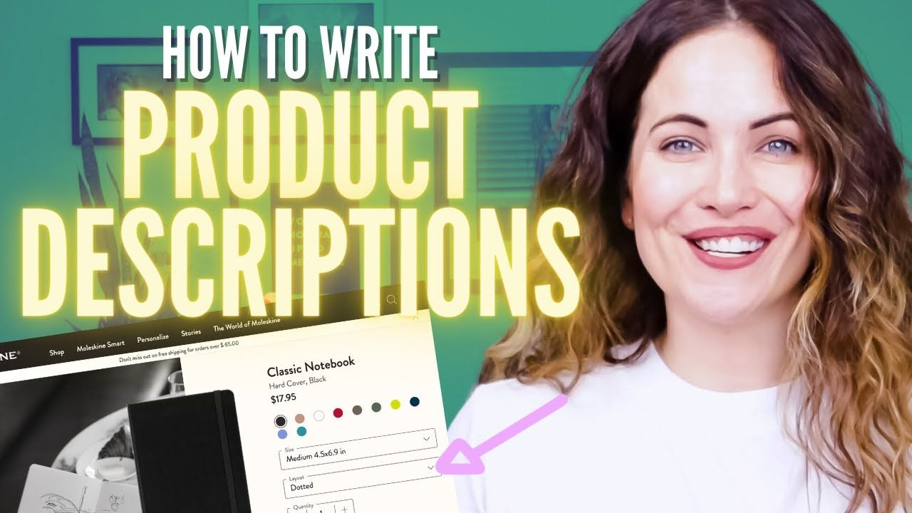 How To Write Product Descriptions That Don't Suck (Copywriting Tips For eCommerce)