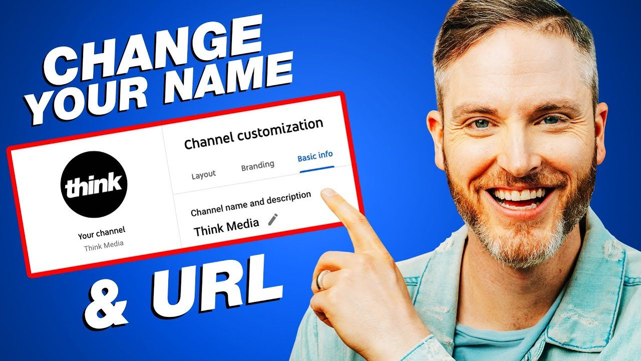 How to Change Your YouTube Channel Name & Custom URL (2021 UPDATE)