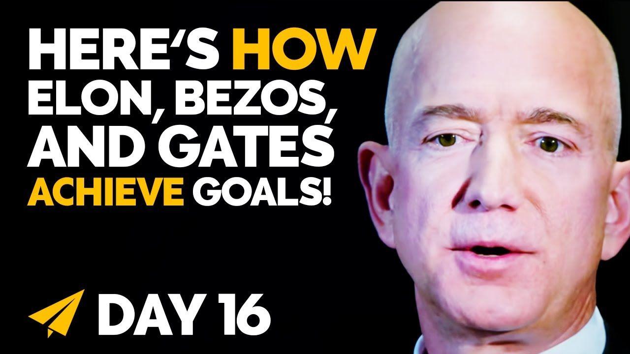 How to Set Your GOALS Like a Billionaire!   #BillionaireMindset