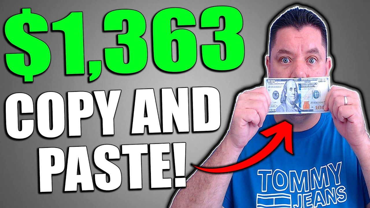 Make $500 – $1,000 Per Day to COPY and PASTE! Make Money Online
