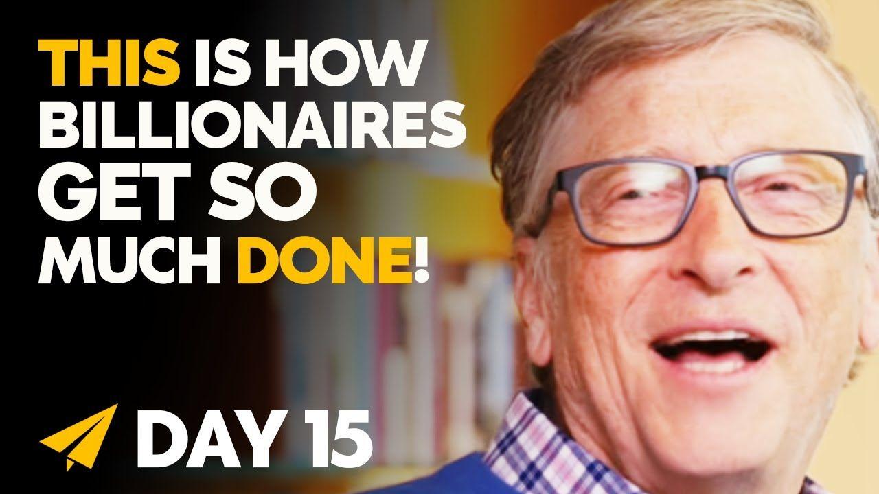 The Best PRODUCTIVITY Hacks Billionaires Practice Daily!   #BillionaireMindset