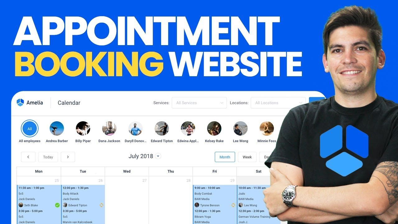 How To Create An Appointment Booking Website With WordPress (With Any Page Builder)