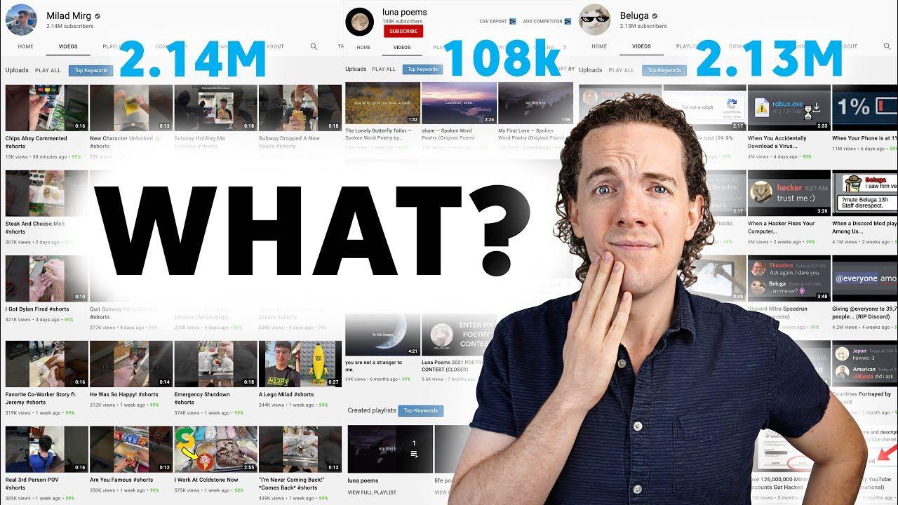 3 Channels That BROKE YouTube