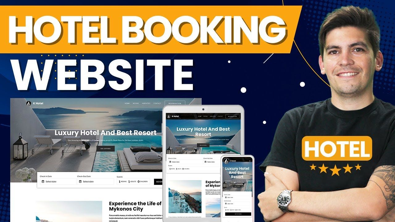 How To Make A Hotel Booking Website With WordPress (Like The Hilton Hotel)