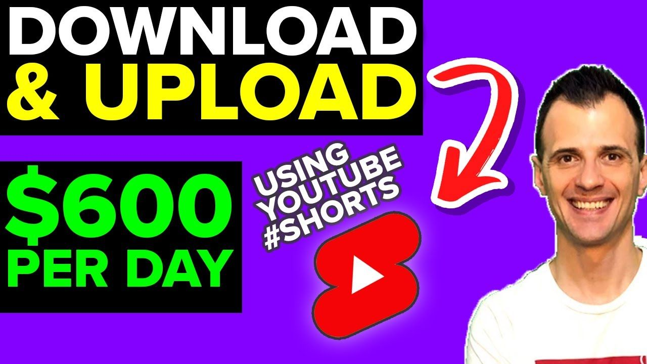 How To Make Money with YouTube Shorts WITHOUT Making Videos Yourself (SIMPLE 3-STEP PROCESS)