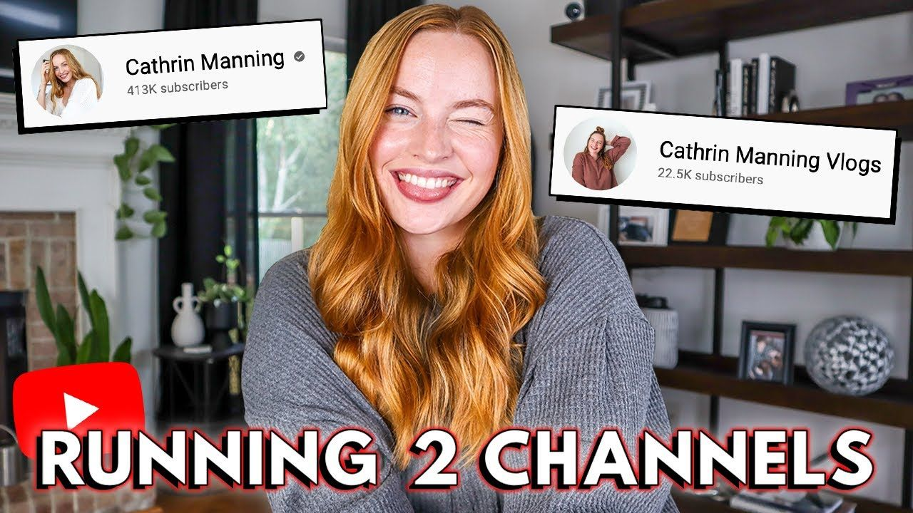How To Run Multiple YouTube Channels // When to get a second channel, how Adsense works, & MORE