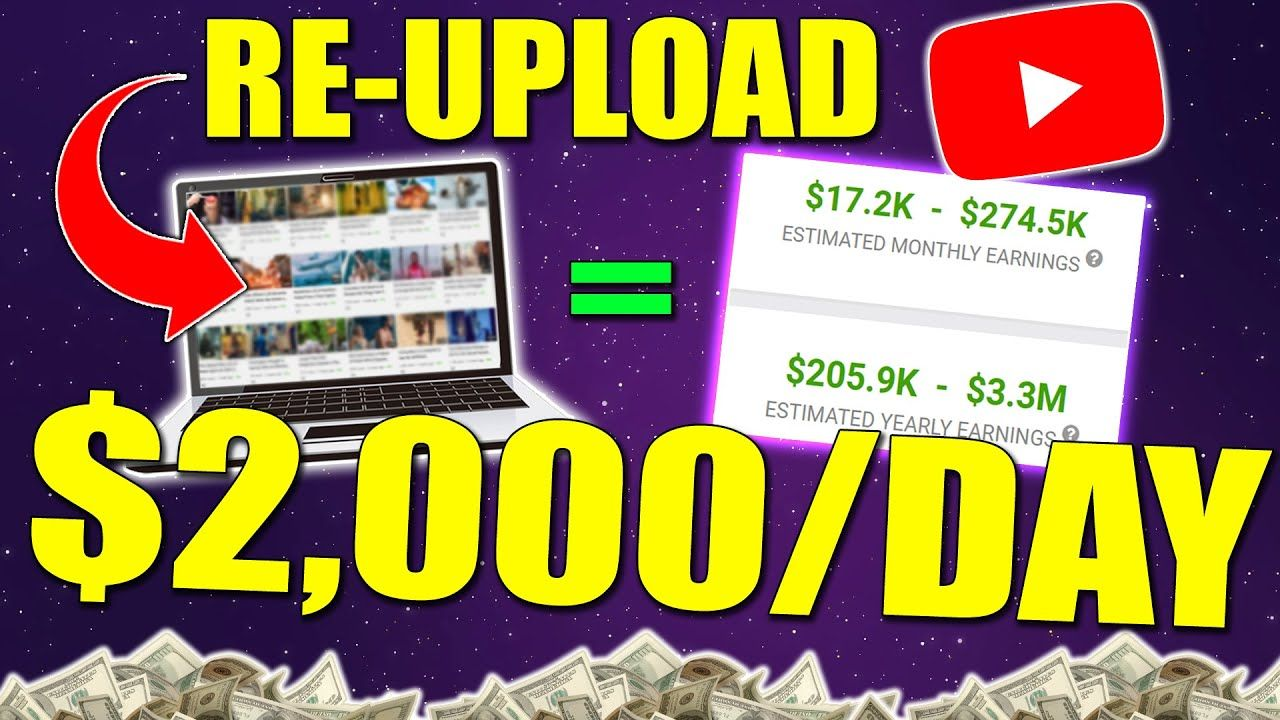 How to Make Money on YouTube WITHOUT Making Videos Yourself (Fastest GROWING Channel)