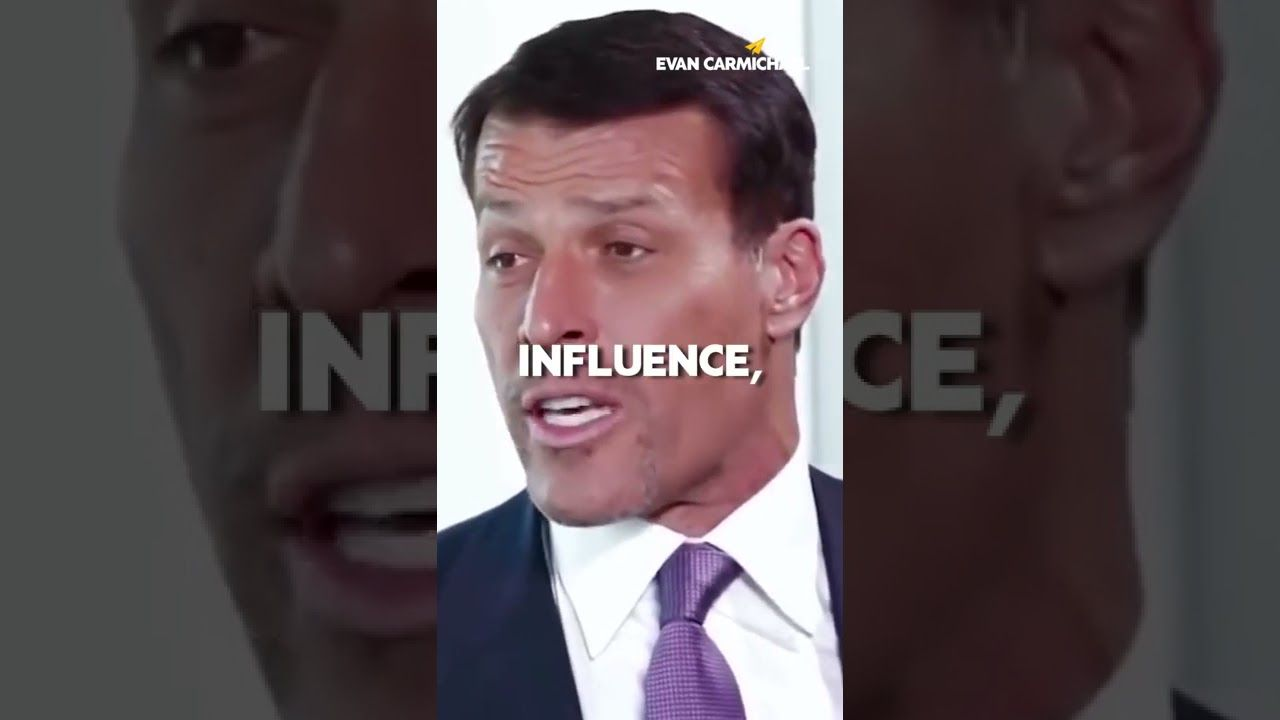 LEADERSHIP is a Skill of INFLUENCE!   Tony Robbins   #Shorts