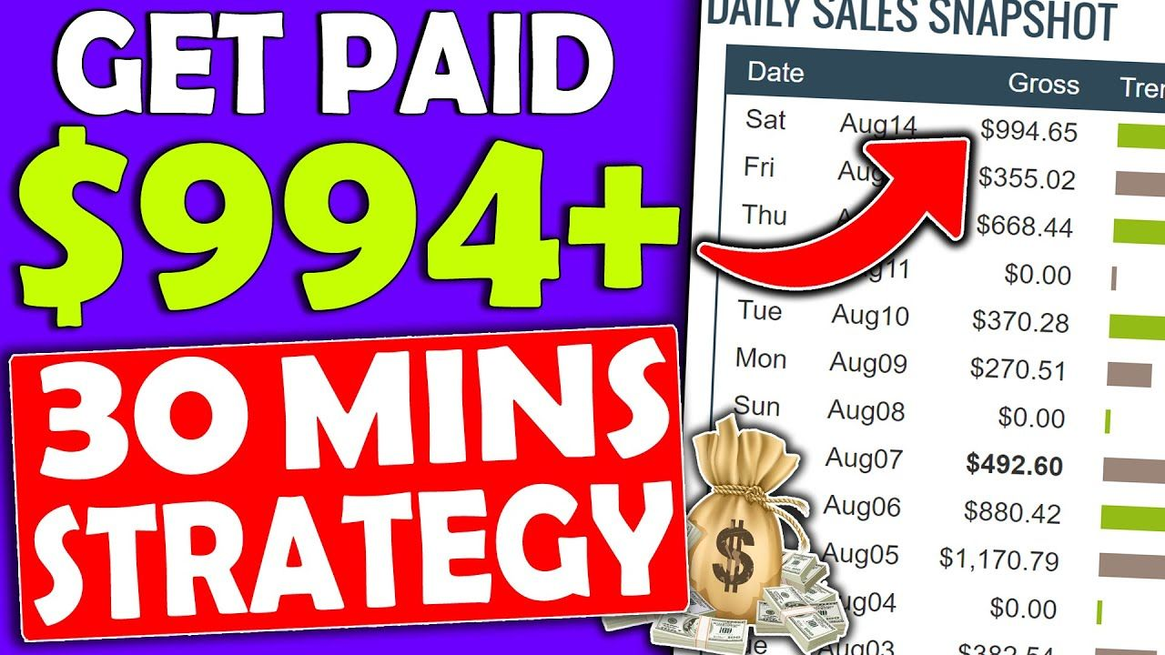 Make Money Online USING This 30 MINUTE Strategy and Earn Up To $900 FAST! (Affiliate Marketing)