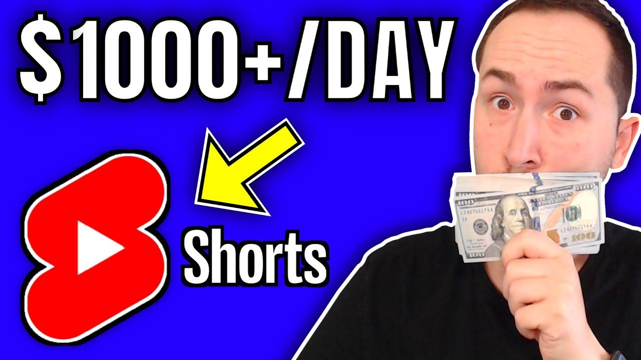 Make Money with YouTube Shorts WITHOUT Showing Your Face or Voice ($1,000/day)