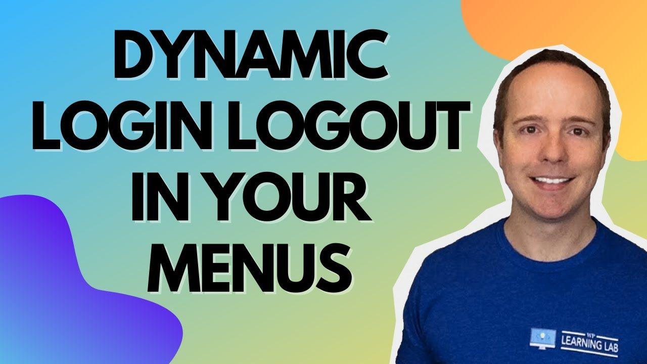 How To Add Login Logout In WordPress Menu – WordPress Login Logout Button In Menu